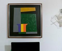"""HARD EDGE""  USA, 1970 (bauhaus.gallery) Tags: hard edge usa galeriedhamé geroldhamé geometrie konkretekunst"