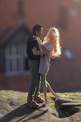 Kiss me, kiss me, kiss me! 💋 😚 💋 😚 (lichtspuren) Tags: dollcouple barbiemod barbie ashleyolsenbarbie actionfigure johnwick daily situations keanu dailysituations minime 16 scale couple diorama barbieheadonpoppyparkerbody poppyparkerbody favoritedollcouple lichtspuren