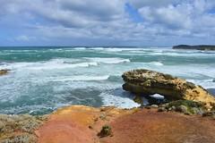 800_4558 (Lox Pix) Tags: twelveapostles australia victoria loxpix loxwerx landscape scenery seas seascape ocean greatoceanroad cliff clouds waves helicopter heritage