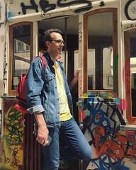 Total look jean in Lisbon 😁✌️ (ARnnO PLAneR) Tags: lisboa lisbon lisbonne bica tram tramway portugal totallookjean