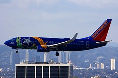 B737 N727SW Los Angeles 22.03.19 (jonf45 - 5 million views -Thank you) Tags: airliner civil aircraft jet plane flight aviation lax los angeles international airport klax southwest airlines boeing 7377h4w n727sw 737 b737