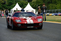 1965 Ford GT40 P/1005 (pontfire) Tags: 1965 ford gt40 p 1005 gt 40 65 red rouge carroll shelby v8 american américaine legend légende 24 h le mans cars voiture sports de sport classic car antique old vieille ancienne collection auto autos automobile automobiles voitures coche coches carro carros pontfire race course rennwagen carreras 2012 lmc endurance hours heures du sportscar bil αυτοκίνητο 車 автомобиль classique 自動車 سيارة מכונית p1005 fav 216c