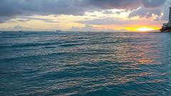 Hawai'i Sunset - Waikiki Beach - Honolulu, HI (J.L. Ramsaur Photography) Tags: hawaiisunset hawaii waikikibeach oahu 25thanniversary pacificocean beacheslandscapes beach oceanview jlrphotography nikond7200 nikon d7200 photography photo oahuhi honolulucounty 2019 engineerswithcameras islandsofhawaii photographyforgod hawaiianislands islandphotography screamofthephotographer ibeauty jlramsaurphotography photograph pic tennesseephotographer oahuhawaii 25years anniversarytrip bucketlisttrip thegatheringplace 3rdlargesthawaiianisland 20thlargestislandintheunitedstates therainbowstate waikiki honoluluhawaii honoluluhi honolulu sunset sun sunrays sunlight sunglow orange yellow blue wherethemapturnsblue ilovethebeach ocean bluewater blueoceanwater sea waves beautifulsky clouds sky skyabove allskyandclouds