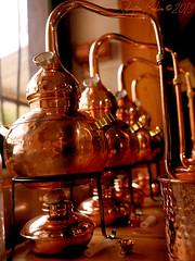 Distillerie Straw Bale P1190315_Mini_WM (Twilight'Zone) Tags: distillerie strawbale vacquiers