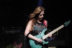 Courtney Cox a.k.a. Adriana Smith The Iron Maidens (Pá-ric) Tags: ironmaidens colossaalaschaffenburg caparisonguitar caparison femaleguitarists electricguitar guitar heavymetal rockmusic rock colossaal adrianasmith courtneycox