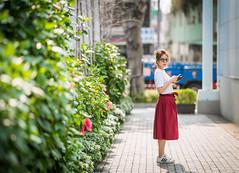 DSC05055 (CasaDeAM) Tags: sony a9 135mm 135gm fe f18 sunny girl pretty beautiful wife woman portrait face taiwan taichung