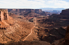 Shafer Canyon, Canyonlands NP (Noble Silence) Tags: usa unitedstates utah canyonlandsnationalpark shafercanyon lasalmountains