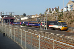 43185 Penzance (2) (Marky7890) Tags: gwr 43185 class43 hst 1a82 penzance railway cornwall cornishmainline train