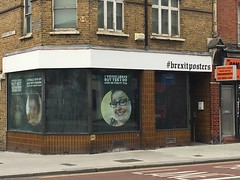 The strange Brexit shop in East Greenwich 105/365 (kevertonphoto) Tags: brexit eastgreenwich london politics politicalcomment