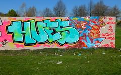 Prinsenpark (oerendhard1) Tags: graffiti streetart urban art rotterdam oerendhard prinsenpark hues timer