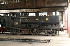 3738 GWR 5700 Class 0-6-0PT (1937) (Roger Wasley) Tags: 3738 gwr 5700 class 060pt panniertank engine steam locomotive didcot railway centre greatwestern heritage preservation