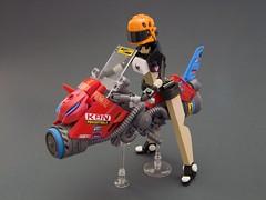 Akiyama Sidewinder GT (Djokson) Tags: cyberpunk hoverbike speederbike motorcycle motorbike scifi driver racer lsb2019 djokson lego moc model toy