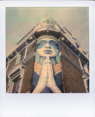 A Prayer for Perspective (Ray Liu Photography) Tags: perspective polaroid roidweek instant film mural nottinghill portobelloroad