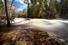 Wassi Falls (Chaos2k) Tags: waterfalls wassifalls water trees rocks motion clouds ontario callander canada brianboudreau 2019 52weeksthe2019edition spring 52weeks leebigstopper nd canon5dmarkii canonef1635mmf28lusm