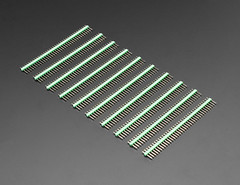 "Break-away 0.1"" 36-pin strip male header - Green - 10 pack (adafruit) Tags: green 4153 36pin pins maleheaders headers malepinheaders breakawayheaders breakawaymaleheaders electronics diy diyelectronics diyprojects projects new newproducts adafruit"