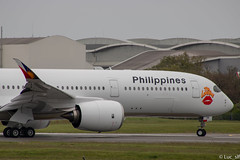 A350 Philippines (Luc_slf) Tags: airbus aviation avion toulouse toulouseairport blagnac aéronautique aeronaitics a350 a350900 philipines philipinesairlines