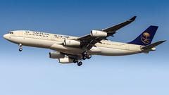 Airbus A340-213 HZ-HMS2 Saudi Arabian Government (William Musculus) Tags: plane spotting aviation airport william musculus bizjet basel mulhouse freiburg bsl mlh eap euroairport lfsb hzhms2 saudi arabian government airbus a340213 a340200