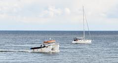 DSC_0526 (philbarnes4) Tags: boats yacht sailing fishingboat ramsgate water sea nikon nikond5500 philbarnes thanet coast coastal kent england mast horizon