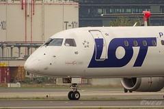 SP-LND 20190423 VIE (SzépRichárd) Tags: aircraft airplane airport embraer lot loww