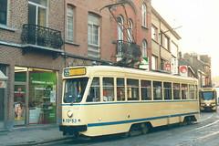 STIB-T55-2109-7053-22-11-1990 (phi5104) Tags: trams belgië belgique brussel bruxelles mivb stib ligne55