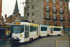 STIB-T55-1898-7930-18-12-1989 (phi5104) Tags: trams belgië belgique brussel bruxelles mivb stib ligne55
