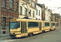 STIB-T55-1717-7910-31-03-1989 (phi5104) Tags: trams belgië belgique brussel bruxelles mivb stib ligne55