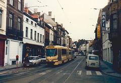 STIB-T55-1077-7903-15-05-1987 (phi5104) Tags: trams belgië belgique brussel bruxelles mivb stib ligne55