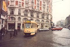 STIB-T55-0302-7106-05-03-1986 (phi5104) Tags: trams belgië belgique brussel bruxelles mivb stib ligne55