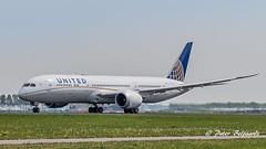 N26966  Boeing 787-9 Dreamliner - United Airlines (Peter Beljaards) Tags: nikon7003000mmf4556 msn60143 genx n26966 departure ams eham schiphol airplane aircraft polderbaan 36l runway36l nikond5500 haarlemmermeer unitedairlines ua dreamliner boeing7879 787 boeing787
