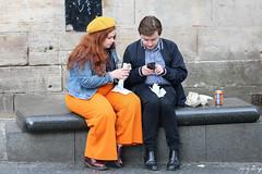 Orange (Cycling-Road-Hog) Tags: beret candid canoneos750d citylife colour efs55250mmf456isstm edinburgh edinburghstreetphotography fashion lipstick people places redlipstick royalmile scotland street streetphotography streetportrait style urban
