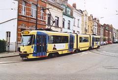 STIB-T55-4125-7922-30-05-2004 (phi5104) Tags: trams belgië belgique brussel bruxelles mivb stib ligne55