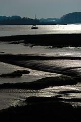 low tide (shanahands2) Tags: mud riverdeben lowtide yacht suffolk nikon d750