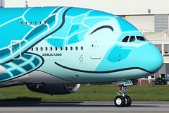 All Nippon Airways (ANA)  Airbus A380-841 F-WWAF (widebodies) Tags: hamburg finkenwerder xfw edhi widebody widebodies plane aircraft flughafen airport flugzeug flugzeugbilder all nippon airways ana airbus a380841 fwwaf
