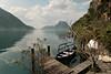 DSCF8384-rt (capturedbyflo) Tags: fujifilm fuji ticino switzerland lugano tessin 1024mm xf landscape waterscape nature outdoor lake boat water mountains spring scenery gandria