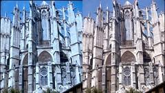 Batch E 0112 (dizzygum) Tags: vintage stereo 3d slide image france 1960 beauvais cathedral