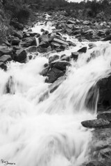 River (Kusi Seminario) Tags: water agua river stream rio whitewater andes andean landscape paisaje outdoor nature travel hike hiking mollepata cusco peru humantay soraypampa sudamerica southamerica blackandwhite blancoynegro