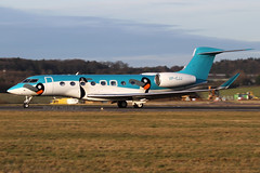 VP-CJJ | Private Gulfstream Aerospace G650 | London Luton EGGW/LTN | 03/02/19 (MichaelLeung213) Tags: penguins gulfstream penguin aerospace g650 g650er vpcjj luton bizjet private jet owner business gvi ltn eggw eggwltn february london spotting plane aircraft airport afternoon take off takeoff runway 26