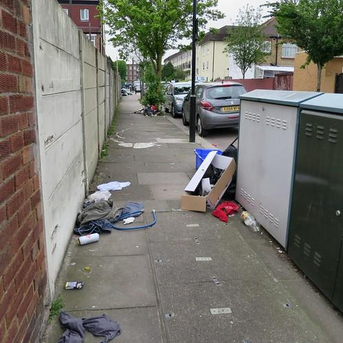 Mafeking Road Dumping - two more piles visible