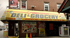 Deli & Grocery (Robert S. Photography) Tags: corner store signs ads building street newyork brooklyn mcdonaldave sony color dsch55 iso160 march 2019