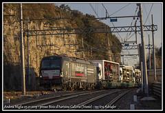 Adriafer con Rola (Andrea Miglia) Tags: adriafer rola campomarzio villaopicina vectron aurisina sudbahn treno merci freight train intermodale tec