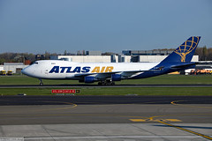 Atlas Air Boeing 747-400F (Can Pac Swire) Tags: planespotting airliner aircraft airplane plane civilian brussels belgium belgië belgique bru airport boeing b 747 744 747400f freighter cargo