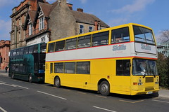 SIL 6435 + S451 ATV (ANDY'S UK TRANSPORT PAGE) Tags: buses nottingham skills