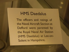 RAF Defford Museum at Croome - HMS Daedalus (ell brown) Tags: croome worcestershire england unitedkingdom greatbritain nationaltrust croomedabitot croomeestatetrust croomepark pershore lancelotcapabilitybrown 6thearlofcoventry rafdefford rafdeffordmuseum sign coatofarms shield hmsdaedalus