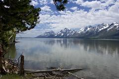 Grand Tetons and Jackson Lake (swissuki) Tags: jacksonlake grandteton wy wyoming nature lake landscape national park mountain usa