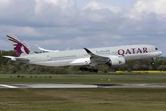 Airbus A350-941 A7-ALX Qatar Airways (Mark McEwan) Tags: airbus a350 a350941 a7alx qatar qatarairways edi edinburghairport edinburgh aviation aircraft airplane airliner