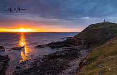 Stoer Sunset (cliffwilliams449) Tags: assynt scotland stoer stoerlighthouse sunset light vivid colour lighthouse landscape seascape ocean sea sonyilce7m3 sony24105mmlens leefilters