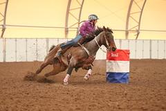 Ashley (wysharp) Tags: barrelracing cowgirl horse