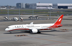 Shanghai Airlines, B-208X, Boeing 787-9 at HND (tokyo70) Tags: japan travel tour tokyo shanghaiairlines 787
