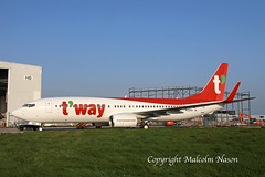 B737-8KN HL8354 T'WAY (shanairpic) Tags: jetairliner passengerjet b737 boeing737 shannon iac tway hl8354 a6fds
