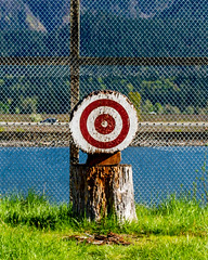 On Target (Matthew Warner) Tags: matthewwarner columbiarivergorge columbiarivergorgeous washington pnwonderland stevenson skamaniacounty axethrowing target 2019 columbiariver spring